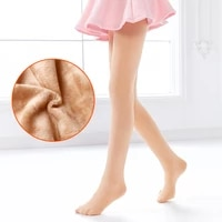 girls thicken dance pantyhose kids ballet warm dance tights velvet ballet seamless daily dance stockings