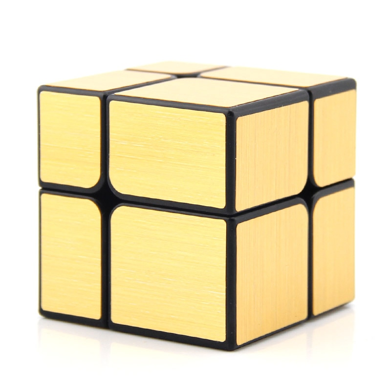 Original High Quality YongJun Mirror 2x2x2 Magic Cube YJ 2x2 Speed Puzzle Christmas Gift Ideas Kids Toys For Children