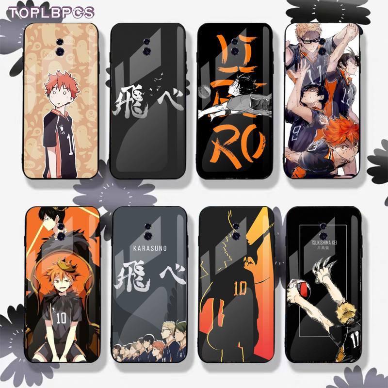 Чехол для телефона из закаленного стекла TOPLBPCS Haikyuu Hinata Attack Anime для Xiaomi6 8 SE MIX2S Note3 Redmi 4X 5PLUS 6 6A Note4 5 6 7pro