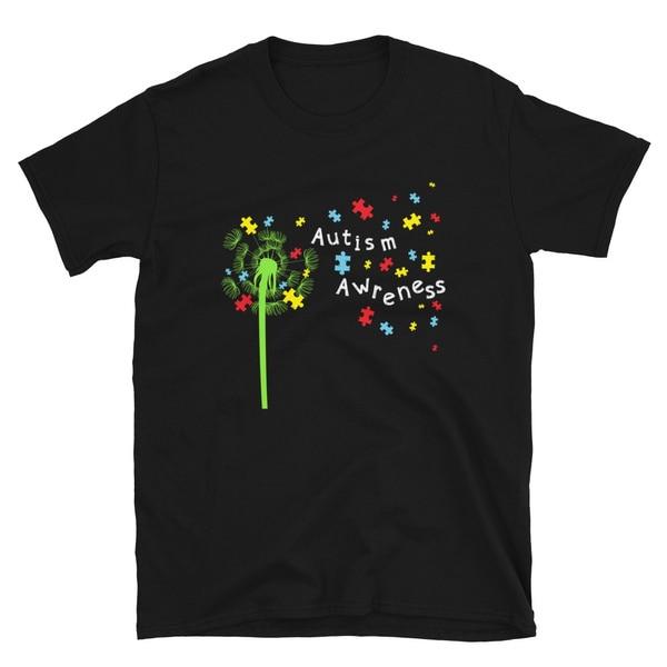 Autism Shirts Awareness Ribbon T-shirts
