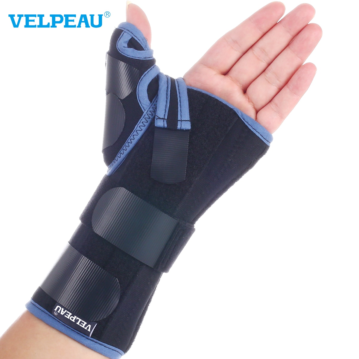 VELPEAU Professional Tenosynovitis Thumb Protector Wrist and Thumb Supporter Fracture Sprain Fixed S