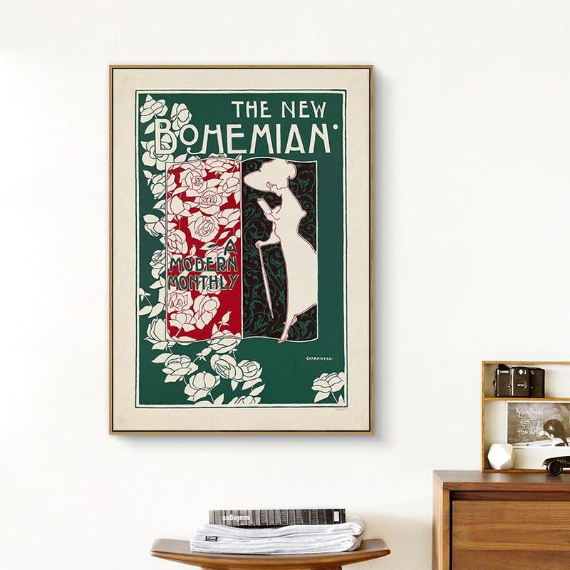 Современные модные плакаты с изображением цветов девушки женщины модные плакаты на холсте художественная живопись для гостиной украшение ...