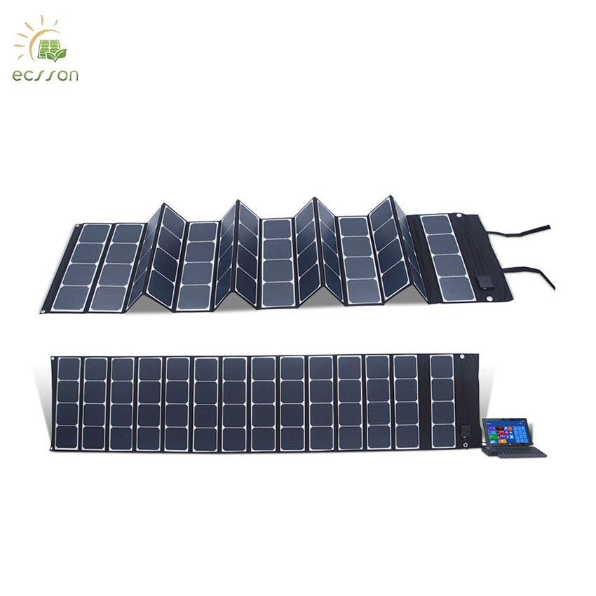 Dobrável de Sunpower Campingmonocristalino ao ar 200w com Alta 300w para o Silicone Painel Solar Eficiência Portátil Livre 25%