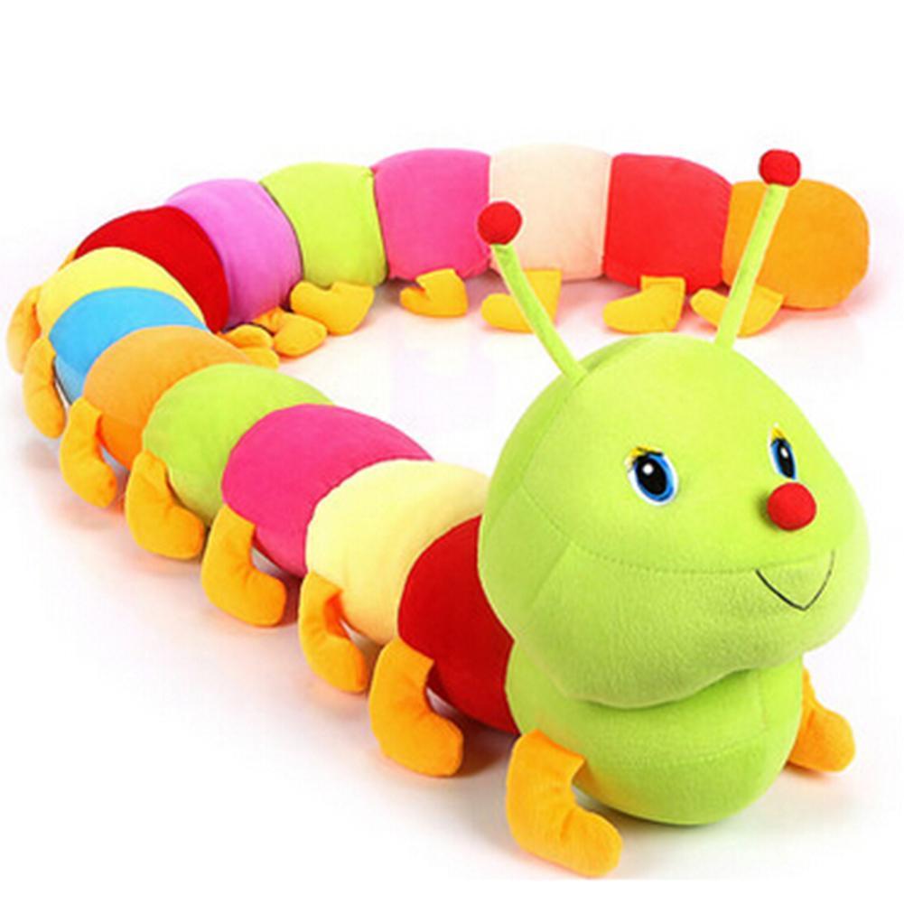 caterpillar сандалии мужские caterpillar camcove размер 40 5 50CM Multicolor Soft Cotton Inchworm Caterpillar Toy Kids Children Doll Birthday Gift Caterpillar Toy