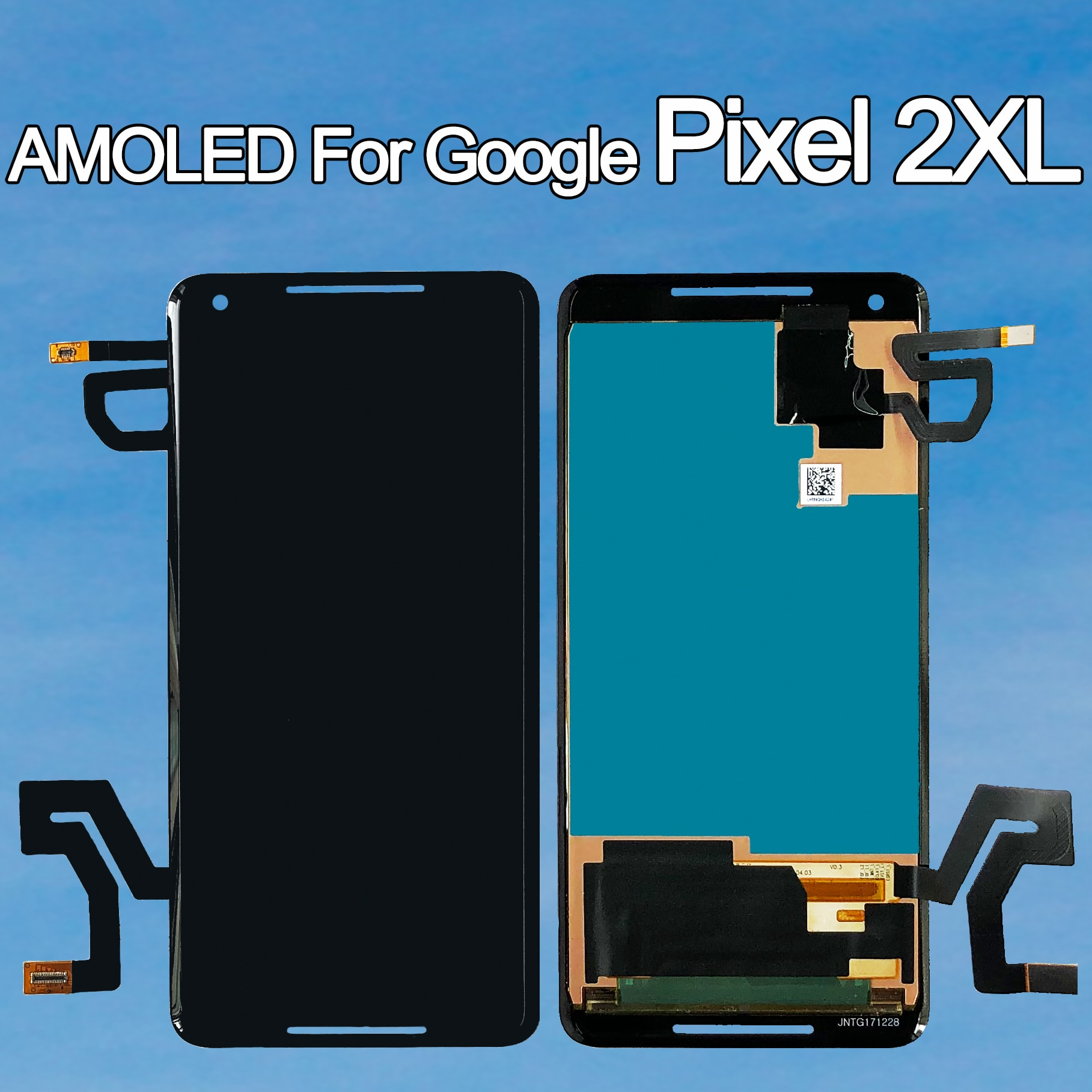 100% Original Amoled For Google Pixel 2 XL LCD Display Touch Screen for Google Pixel2 2XL Digitizer Assembly Replacement Parts enlarge