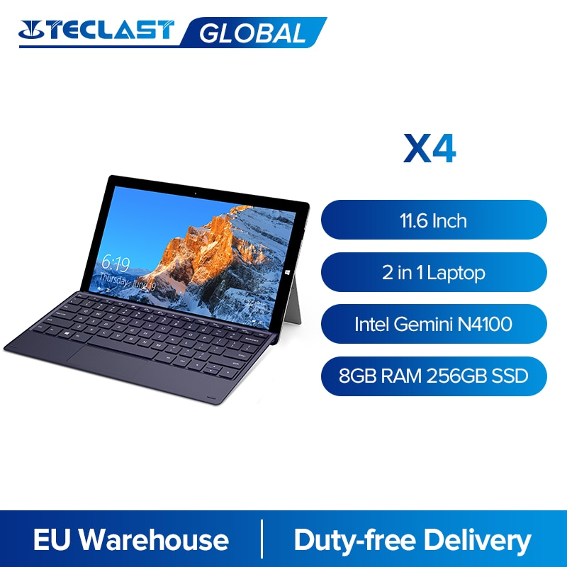 Teclast X4 2 In 1 Tablet PC 11.6 \
