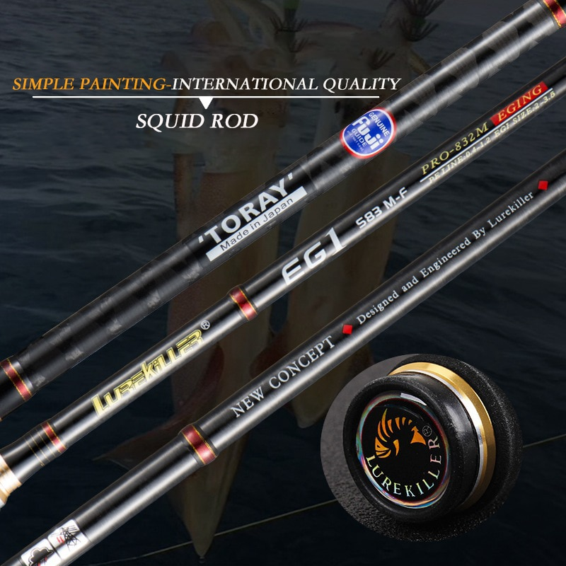 Japan Spinning Fishing Gear Fuji Tackle ML M Carbon Cork Wood Handle Jigging Squid Carp Rod Boat Lure Pole Offshore Angling Rock