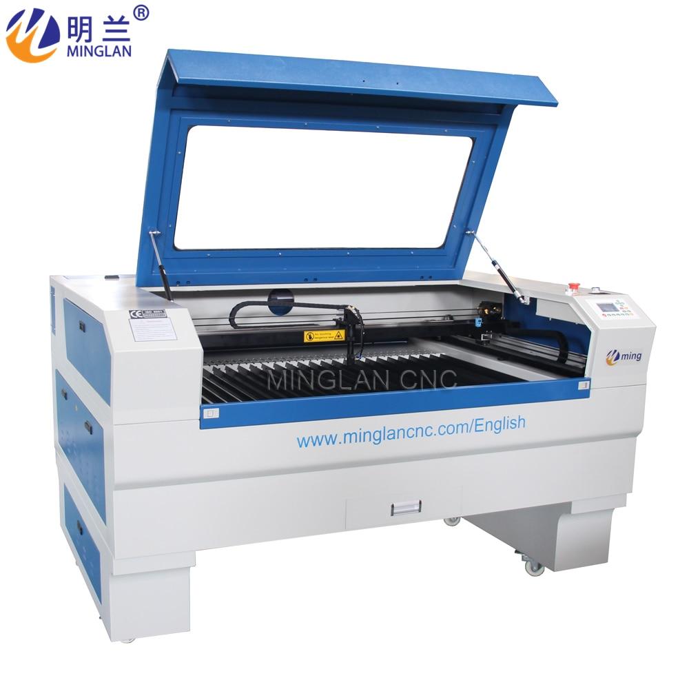 MINGLAN лазер-гравировка-резка-машина 1390 CO2 лазерная машина