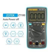 Multimètre numérique ampèremètre voltmètre résistance fréquence rétro-éclairage compteur tension Diode fréquence ZT98 ZT100 ZT101 ZT102