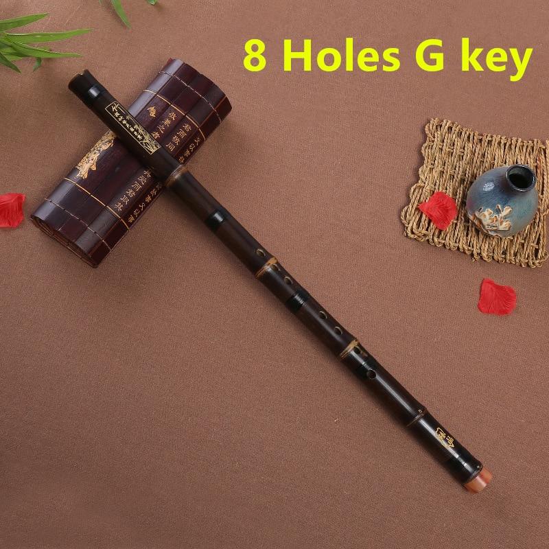 Professional Purple Bamboo Flute Xiao Chinese Vertical Piccolo Shakuhachi  classic traditional music instrument Short Dizi Xiao enlarge