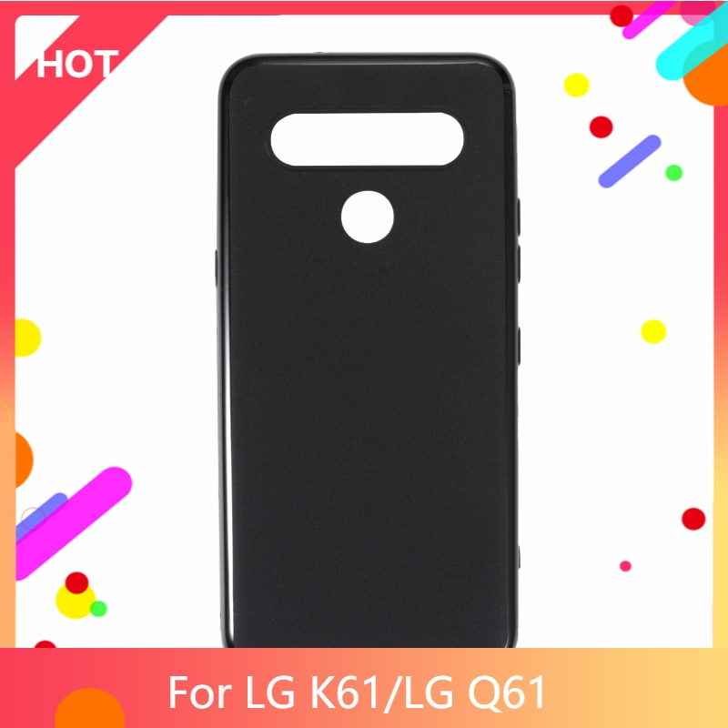 K61 Case Matte Soft Silicone TPU Back Cover For LG Q61 Phone Case Slim shockproof