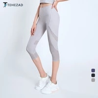 tehezad 2021 womens sport pants female fitness leggings gym yoga clothing high waist workout tight mujer push up sweatpants