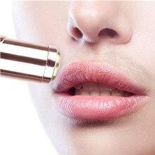 Mini Facial Hair Removal Lipstick Shape eplilator for Women Painless Safety Neck Leg Hair Remover To