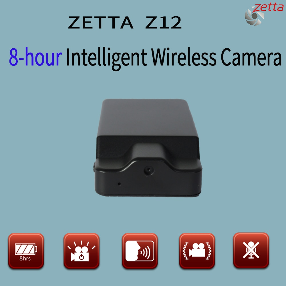 Z12 Wireless VGA Mini DVR Camera With  Have Motion Trigger Voice Recording Security Video Recorder CCTV X-BOX 8 Hours Battery