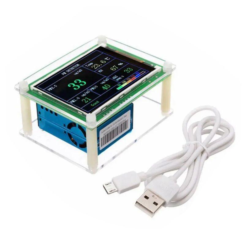 وحدة شاشة TFT مقاس 2.8 بوصة عالية الحساسية ، وكاشف جودة الهواء ، ومستشعر الغبار ، للاستخدام المنزلي والسيارات