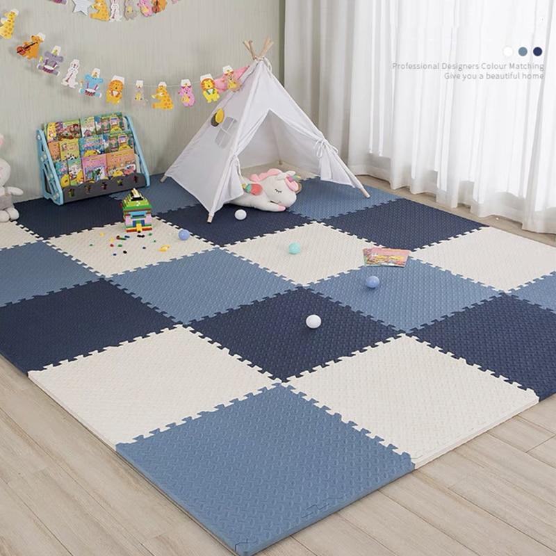 30x1cm Baby Play Carpet Baby Mattress EVA Foam Play Puzzle Mats Exercise Floor Carpet Rug for Kids Carpet Climbing Pads Play Mat
