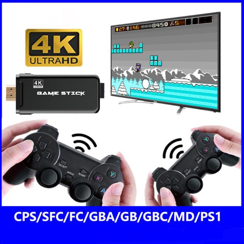 تلفزيون مع mando inalambrico doble de 2021G para PS1/GBA, 2,4 juegos, novedad de 3000/10000