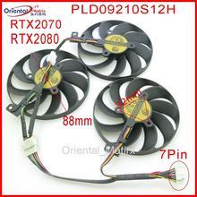 PLD09210S12H 12V 0.30A 88mm pour ASUS ROG STRIX-RTX 2070 RTX2080 ROG-STRIX-RTX2070S SUPER ventilateur de refroidissement de carte graphique