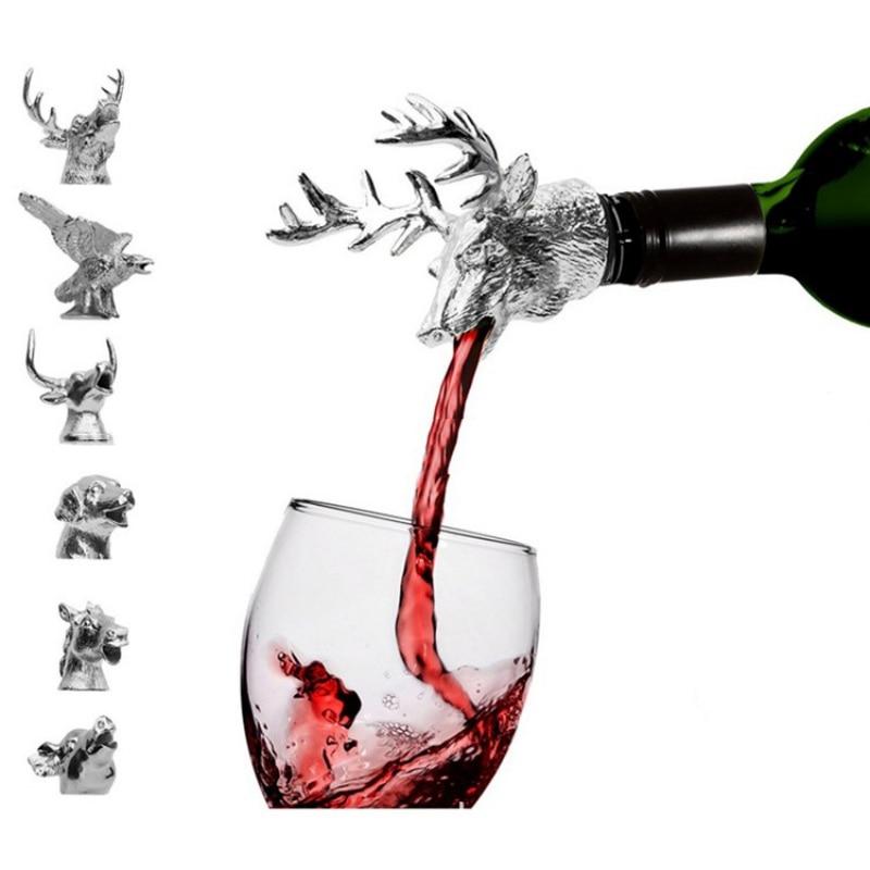 Accesorios de Vino cabeza de ciervo tapón de vino tinto aleación de Zinc herramienta de barra de personalidad creativa