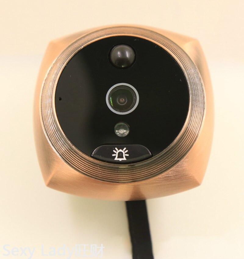 iHome5 Mirilla  Peephole Door Camera Video IP Doorbell IR PIR HD Camera Motion Detect Remotely Control enlarge