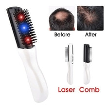 Infrarouge Laser Massage peigne brosse à cheveux croissance des cheveux soins traitement Massage brosse à cheveux maison médical croissance des cheveux Massage dispositif