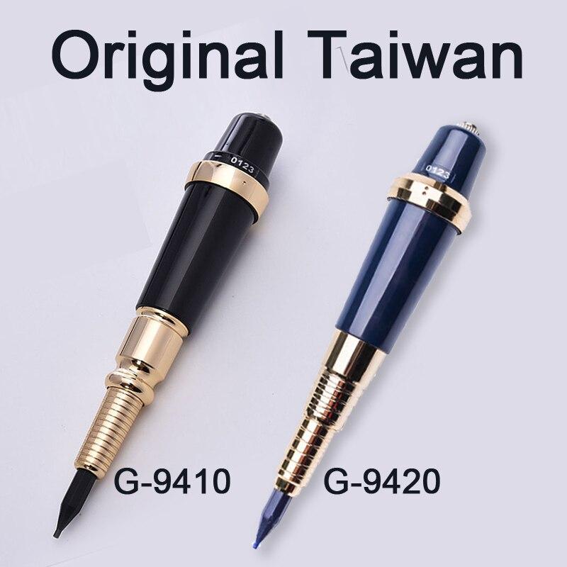 Máquina para maquillaje permanente profesional Taiwán, Original G-9410, gigante, máquina para G-9420 de labios y cejas, suministros de Kit de máquina de tatuaje rotativa