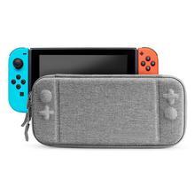 2019 Yeni EVA Sert Oyun Klavyeler Çantası Depolama Seyahat Taşıma Kılıfı Nintendo Anahtarı Koruyucu Gri Çanta NS Nintendo anahtarı r25