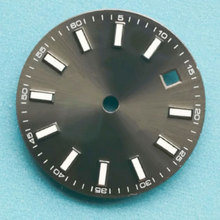 Cadran de montre gris stérile de 29MM 2824 2836 montre de mouvement de la série miborough 82 2813