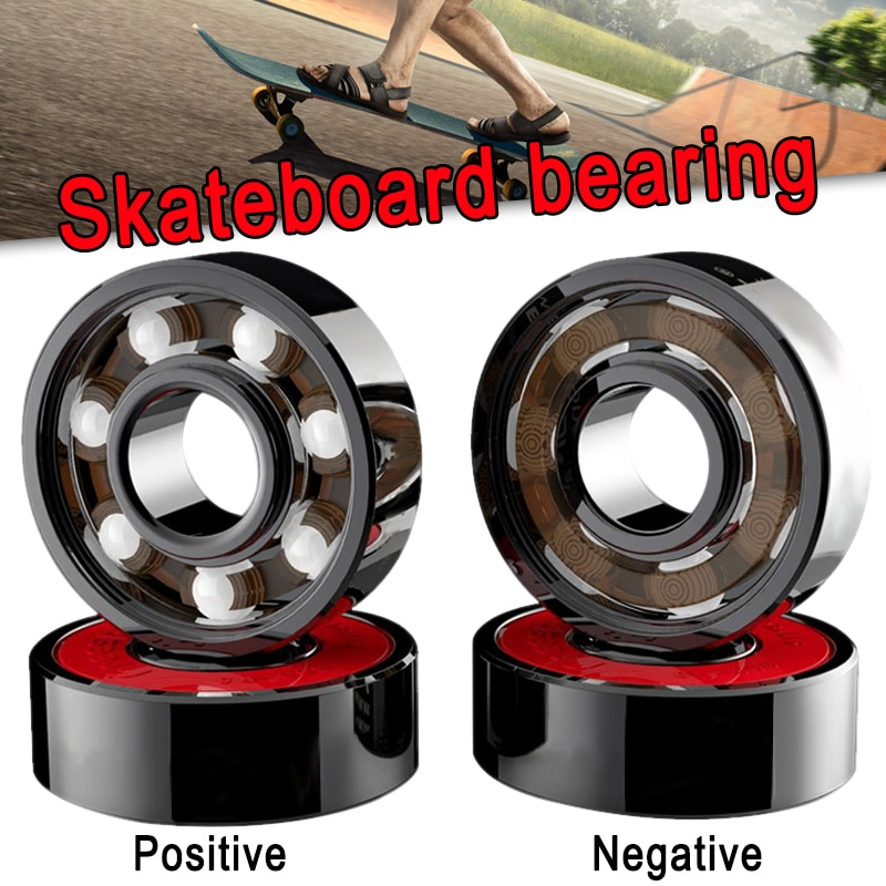 8 Uds rodamientos de cerámica de alta velocidad resistente al desgaste para patines YS-BUY de ruedas