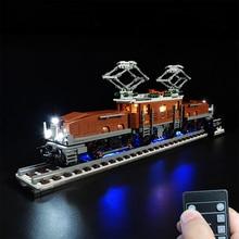 USB Powered LED Beleuchtung Kit für Krokodil Lokomotive 10277 (Nur LED Licht, Kein Block Kit)