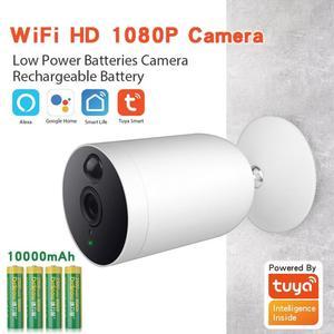 Newest Tuya Smart Life WiFi IP Camera HD Remote Alarm Push Wireless Security Outdoor Low-power Two Way Audio Surveillance Camera