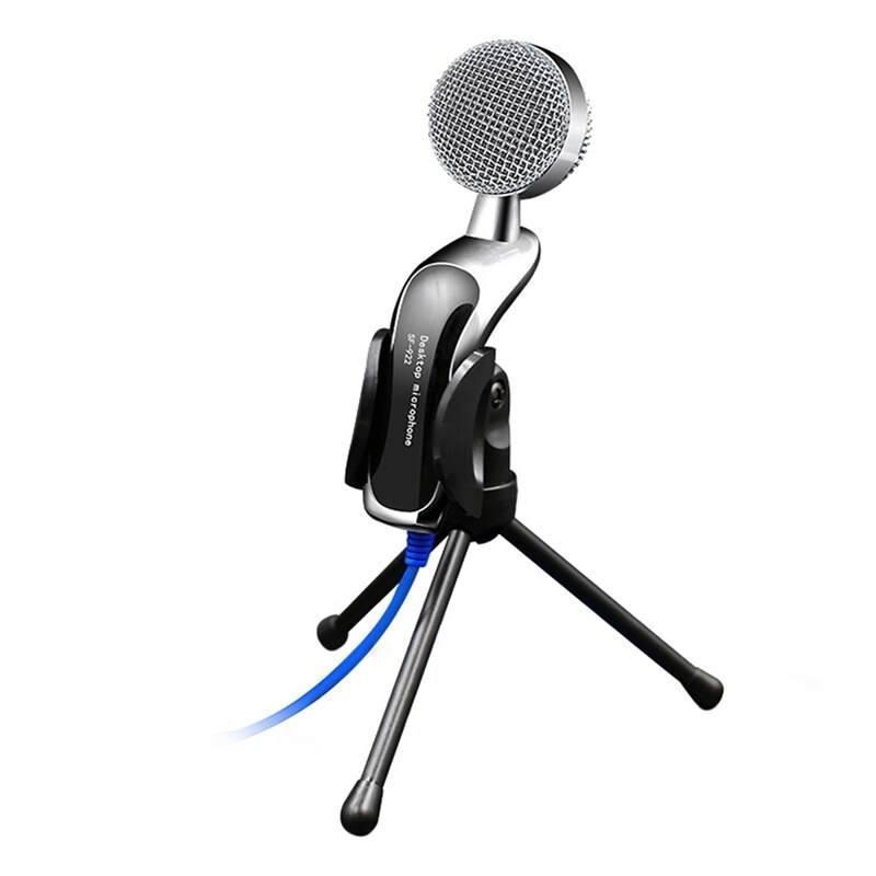 SF-922B profesional de sonido USB condensador micrófono podcast Studio para ordenador portátil chat Audio grabación condensador KTV Mic