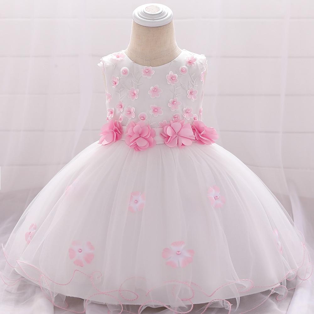 Vestido para niña de Año Nuevo, vestidos para bautizo, niña recién nacida, vestidos para fiesta, boda, primer vestido de 1 er cumpleaños, noche, 3 24 meses