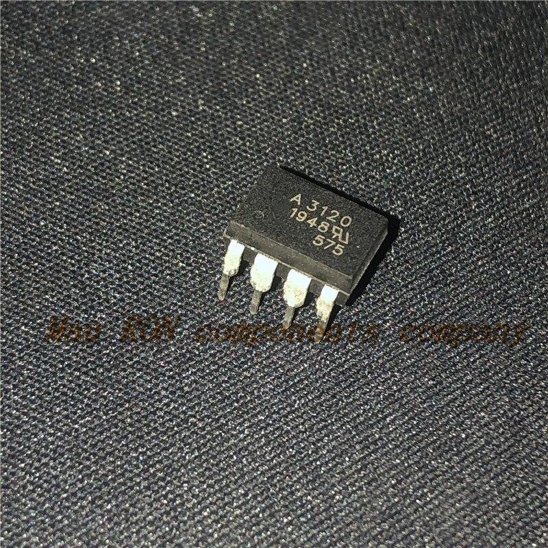 10 PÇS/LOTE HCPL3120 HCPL-3120 DIP8 DIP-8 A3120 Novo original Em Estoque
