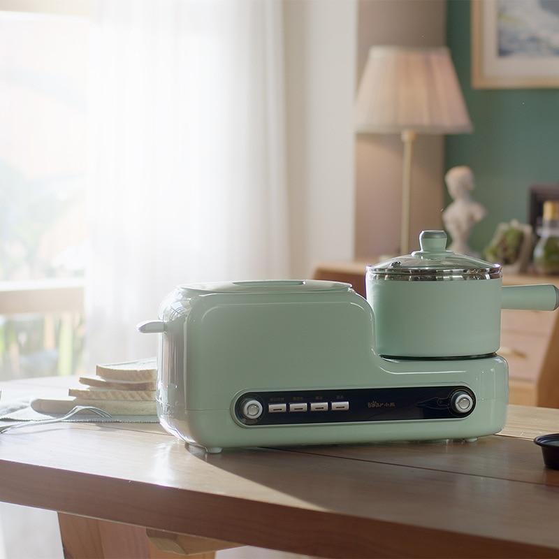 El desayuno De la máquina tostadora Multi-función Cocina eléctrica tostadora Tostadoras De...
