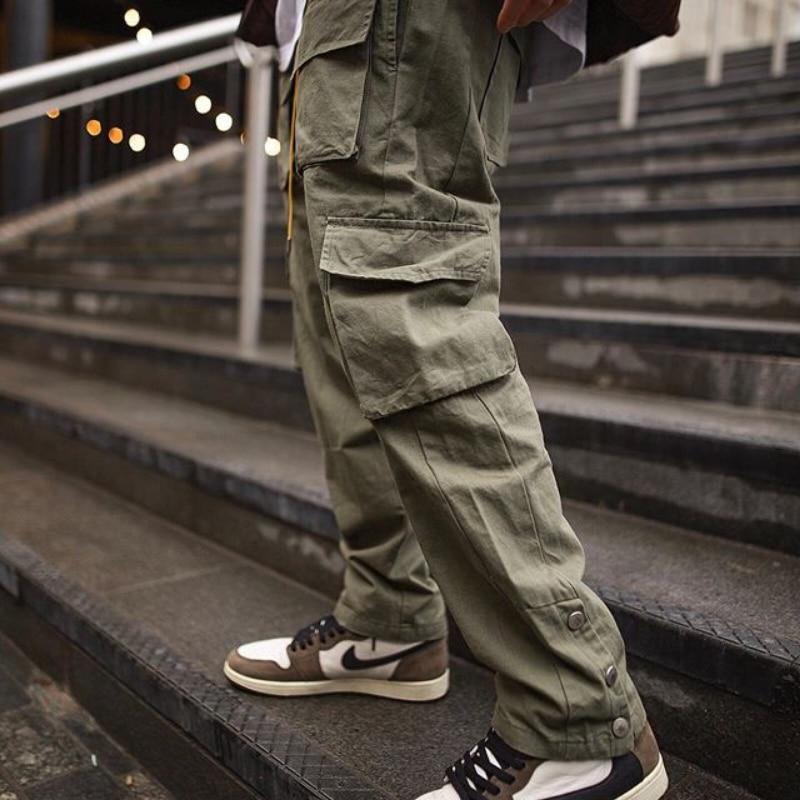 Брюки-карго мужские, уличная одежда, джоггеры, модные брюки со множеством карманов, повседневные джоггеры, спортивные штаны, 2021