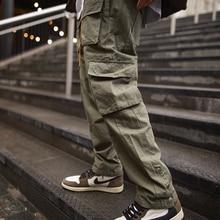 Cargo Pants Men 2021 Hip Hop Streetwear Jogger Pant Fashion Trousers Multi-Pocket Casual Joggers Swe
