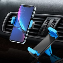 Car Air Vent Mount Mobile Phone Holder for iPhone X 8 Samsung Universal Stand Holder For Xiaomi Redm