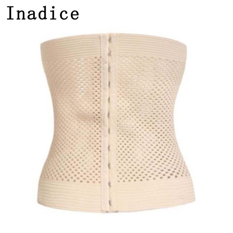 Inadice New Fashion Elastic Belt Body Shaping Tummy Shaper Spandex Corset Belt Solid Ladies Clothes Waist Belt Women Cummerbunds
