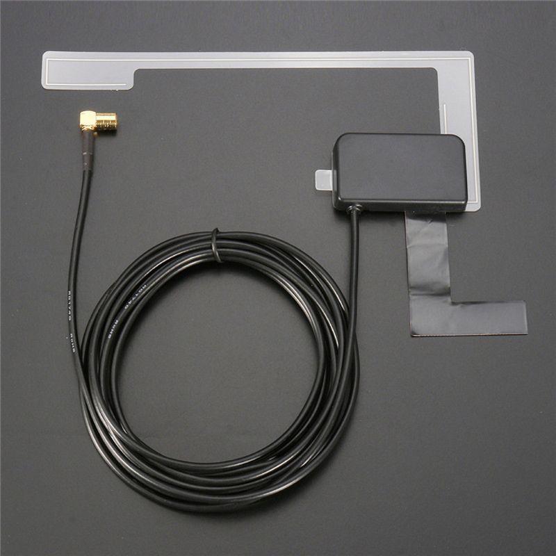 DAB/DAB + - 301 - SMB Antena Digital activa para coche Universal para Radio TV receptor caja Digital Auto Radio antena aérea Cable L41F