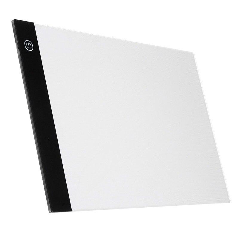 Tableta gráfica Digital A4 Led, plantilla delgada para arte, tablero de dibujo, caja de luz, tableta de rastreo