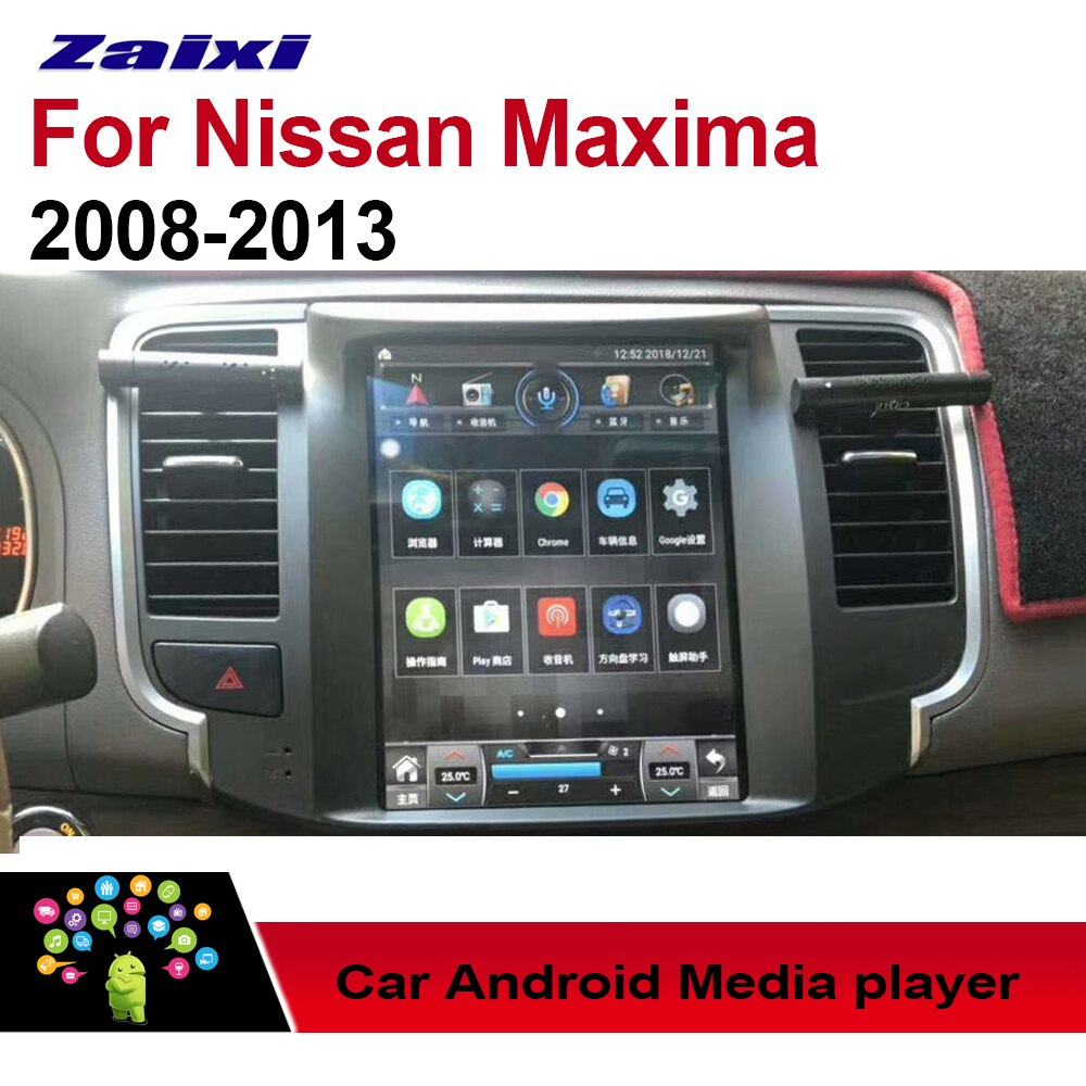 Reproductor Multimedia de coche Android para Nissan Maxima 2008 ~ 2013 pantalla sistema de navegación GPS Radio Estéreo 2 Din