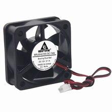 10 pièces lot Gdstime 5cm 50x50x20mm ventilateur refroidisseur cc 12V double boule 50mm 5020 Mini sans brosse ordinateur refroidisseur ventilateur de refroidissement