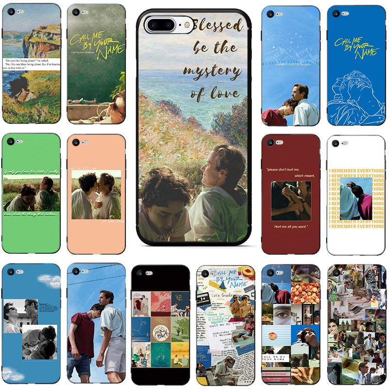 Please Call Me By Your Name HOT TV Fashion Phone Cases Covers For iPhone 6plus 6s 6 5 5s SE 2020 7 8 X XS max XR plus Capa Coque
