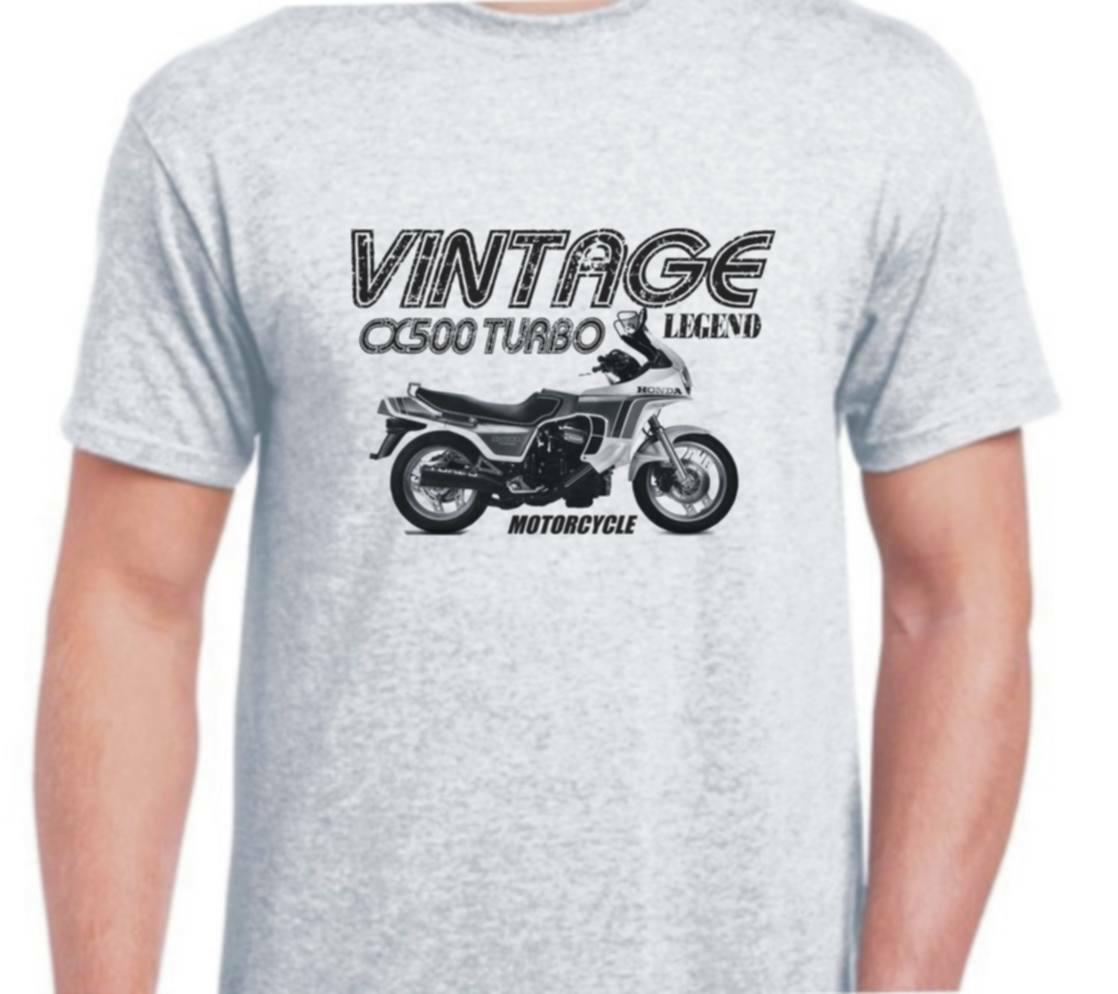 Honda Cx500 Turbo 82 inspirado Vintage, Camiseta clásica de la bici de la motocicleta