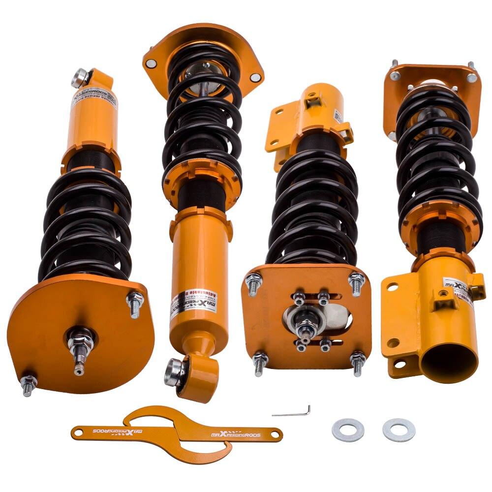 24 amortiguador Kits de suspensión Coilover para Mazda Savanna RX-7 RX7 MK2 1986-1991 Shock Absorber