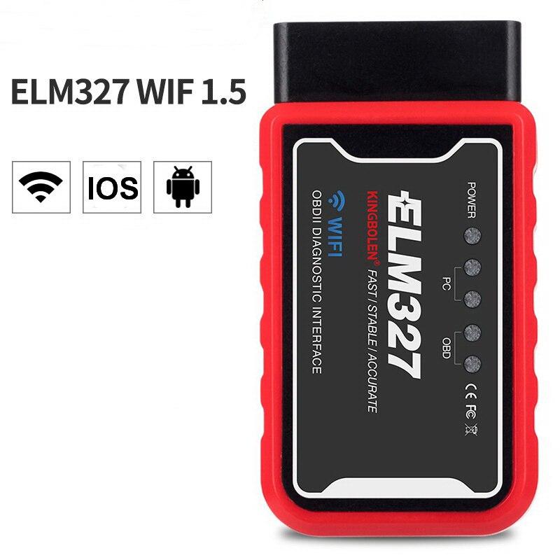 ELM327 V1.5 Bluetooth & WIFI OBD2/OBDII Car Diagnostic Code Reader Scanner Tool