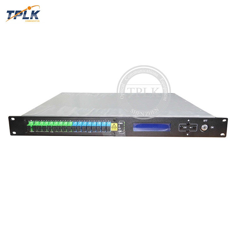 Лучшее качество, новый CATV 1310 нм EDFA 1490/1550/8 портов выход CATV нм оптический усилитель, мощность 16/18 дБм 1U/80 Вт EDFA