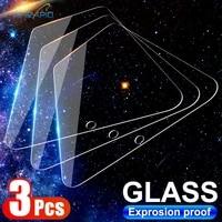 3pcs tempered glass for xiaomi mi 9 8 se 10 lite 6 6x 5x screen protector glass for xiaomi 10t pro poco x3 nfc f1 f2 pro glass