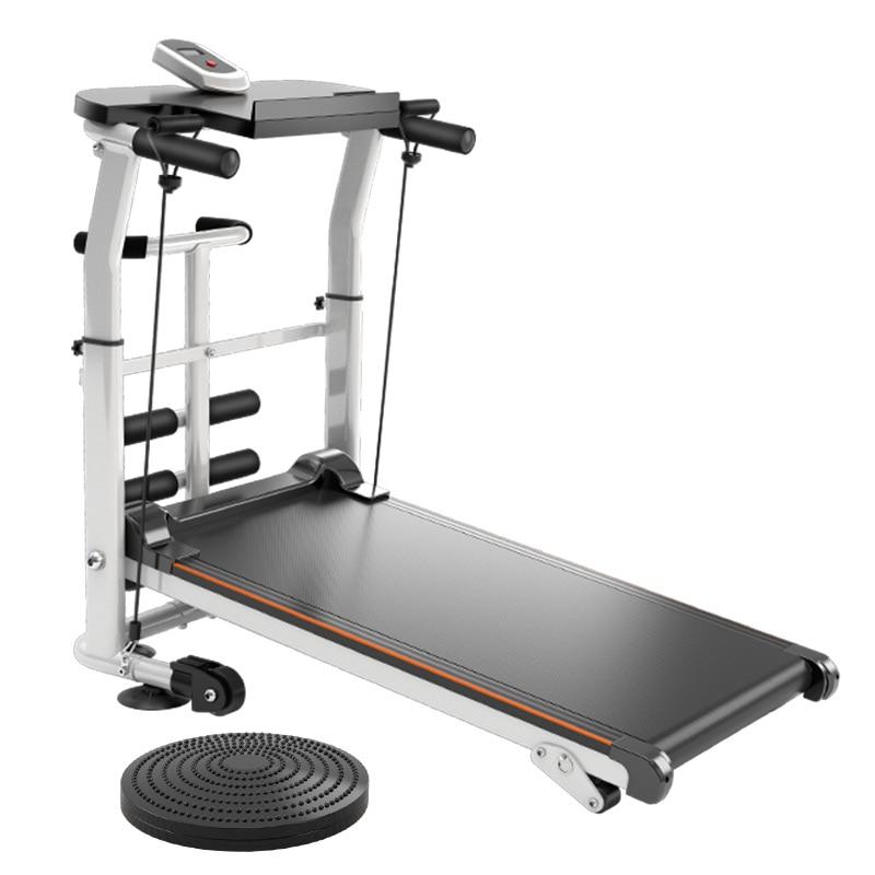 Multifunctional Treadmill Home Family Walking Fitness Equipment Treadmill Small Folding Silent Scientific Shock Absorption XB